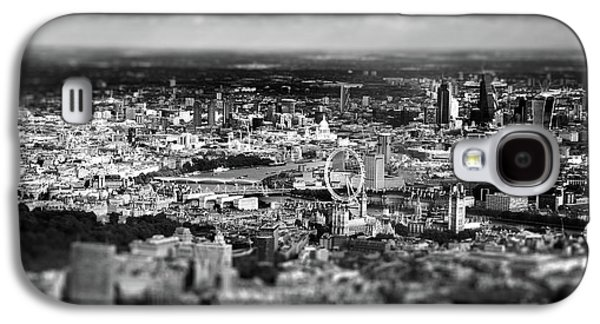 Aerial View Of London 6 Galaxy S4 Case by Mark Rogan
