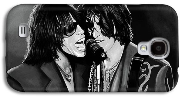Aerosmith Toxic Twins Mixed Media Galaxy S4 Case by Paul Meijering