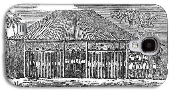 Slaves Galaxy S4 Cases - Africa: Slave Pen, 1849 Galaxy S4 Case by Granger