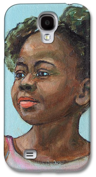 African-american Galaxy S4 Cases - African American 10 Galaxy S4 Case by Xueling Zou
