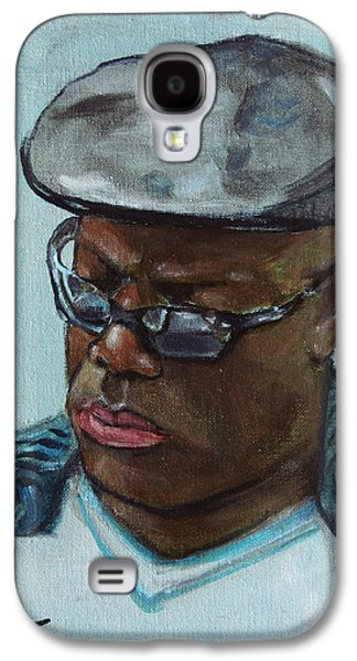 African-american Galaxy S4 Cases - African American 14 Galaxy S4 Case by Xueling Zou