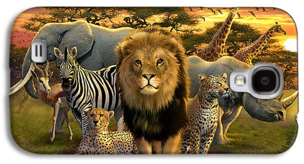 African Beasts Galaxy S4 Case by Andrew Farley