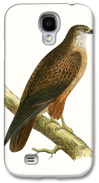 African Buzzard Galaxy S4 Case by English School