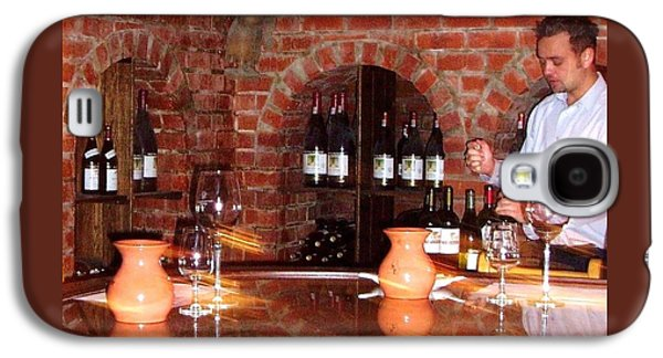 Wine Service Galaxy S4 Cases - African Winery  Galaxy S4 Case by Judy Schneider