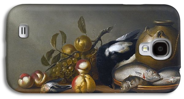 After 1656 Still Life Of Fruit Galaxy S4 Case by Harmen van Steenwijck