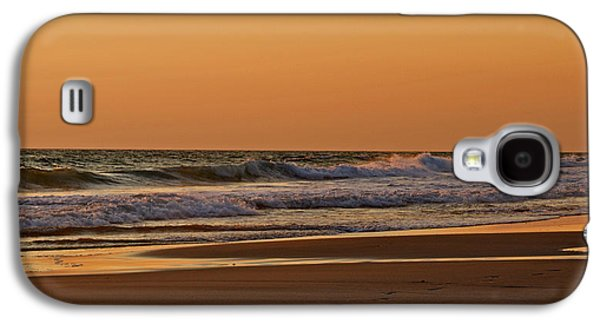Panama City Beach Galaxy S4 Cases - After A Sunset Galaxy S4 Case by Sandy Keeton