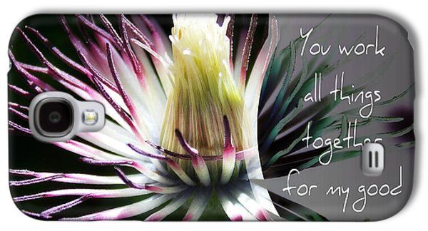 After The Petals Are Gone - Verse Galaxy S4 Case by Anita Faye