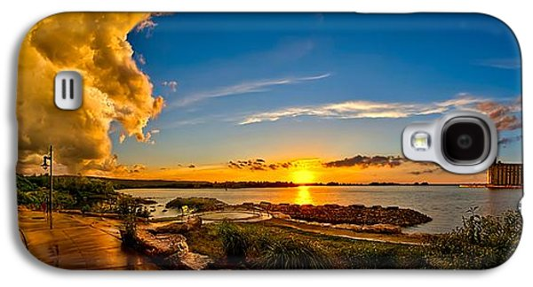 Turbulent Skies Digital Art Galaxy S4 Cases - After The Storm Galaxy S4 Case by Jeff S PhotoArt