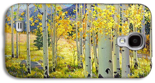 Afternoon Aspen Grove Galaxy S4 Case by Gary Kim
