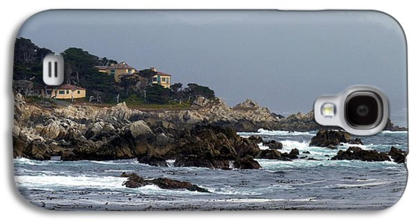 Contemplative Photographs Galaxy S4 Cases - Afternoon Light on Californias Monterey Peninsula Galaxy S4 Case by Carla Parris
