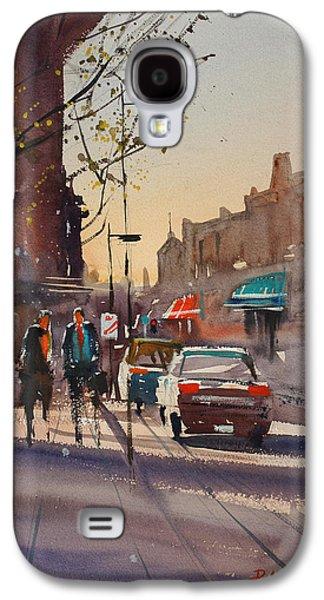 Urban Street Galaxy S4 Cases - Afternoon Light Galaxy S4 Case by Ryan Radke