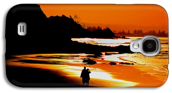 Beach Photography Galaxy S4 Cases - Afternoon Romance Galaxy S4 Case by Az Jackson