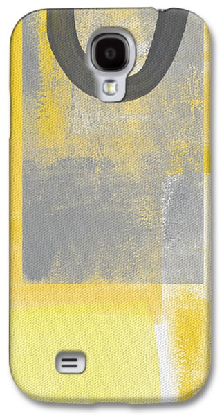 Geometric Abstract Art Galaxy S4 Cases - Afternoon Sun and Shade Galaxy S4 Case by Linda Woods