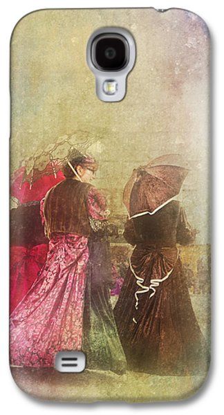 Original Art Photographs Galaxy S4 Cases - Afternoons Chat Galaxy S4 Case by Jone Vasaitis