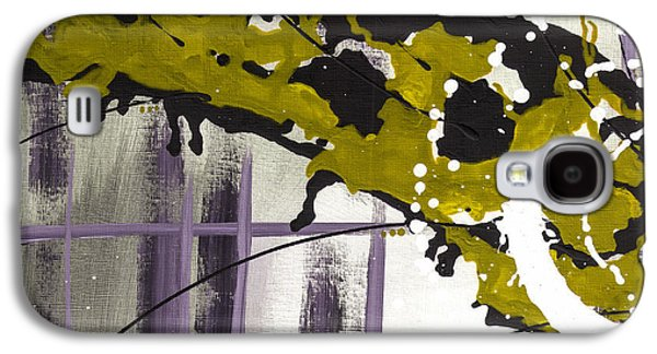 Abstract Digital Mixed Media Galaxy S4 Cases - Against My Will 5 Galaxy S4 Case by Melissa Smith