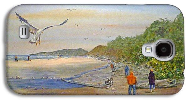 Agate Beach Oregon Galaxy S4 Cases - Agate Beach Galaxy S4 Case by Betty Florea