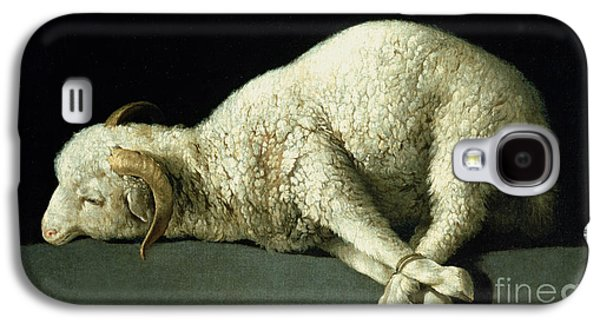 Agnus Dei Galaxy S4 Case by Francisco de Zurbaran