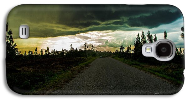 Transportation Tapestries - Textiles Galaxy S4 Cases - Ahead of the storm Galaxy S4 Case by James Hennis