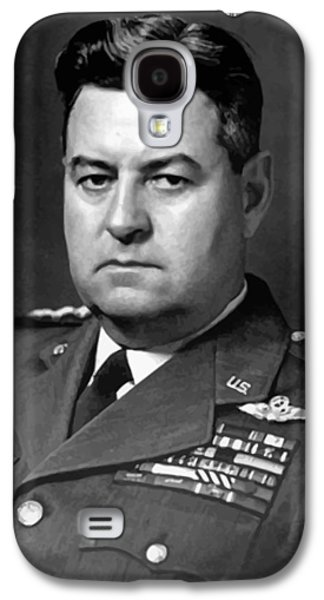 U.s Army Galaxy S4 Cases - Air Force General Curtis Lemay  Galaxy S4 Case by War Is Hell Store