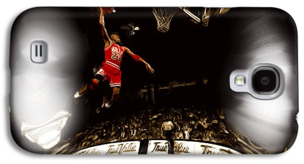 Slam Galaxy S4 Cases - Air Jordan Bubble Galaxy S4 Case by Brian Reaves