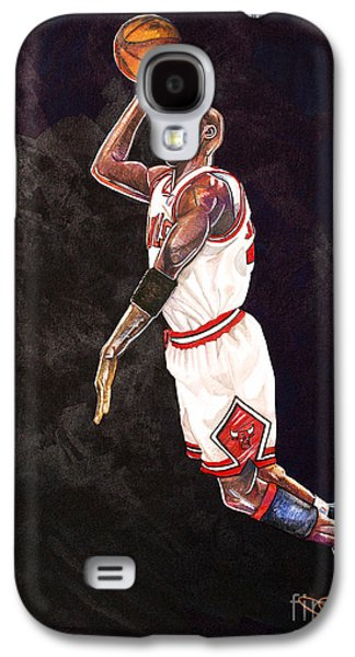 Air Jordan Galaxy S4 Case by Dave Olsen