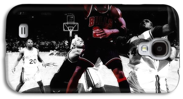 Patrick Ewing Galaxy S4 Cases - Air Jordan Easy II Galaxy S4 Case by Brian Reaves