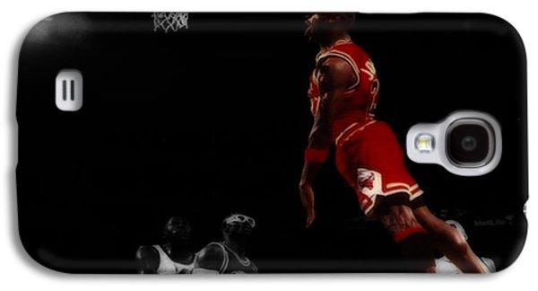 Air Jordan Glide Galaxy S4 Case by Brian Reaves