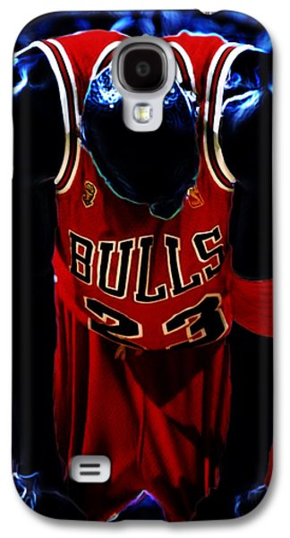 Air Jordan Never Quit Galaxy S4 Case by Brian Reaves