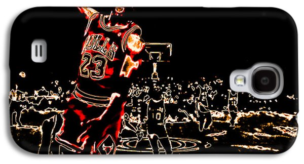 Pippen Galaxy S4 Cases - Air Jordan Thermal Galaxy S4 Case by Brian Reaves