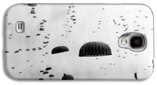 World War 2 Galaxy S4 Cases - Airborne Mission During WW2  Galaxy S4 Case by War Is Hell Store