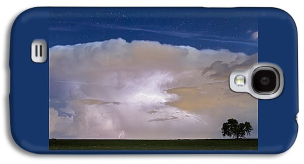 Jet Star Galaxy S4 Cases - Airliner Lightning Strikes Galaxy S4 Case by James BO  Insogna