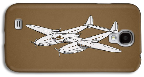 Airplane Photographs Galaxy S4 Cases - Airplane Patent 1939 Galaxy S4 Case by Mark Rogan