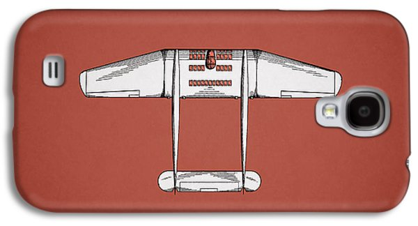 Airplane Photographs Galaxy S4 Cases - Airplane Patent From 1946 Galaxy S4 Case by Mark Rogan