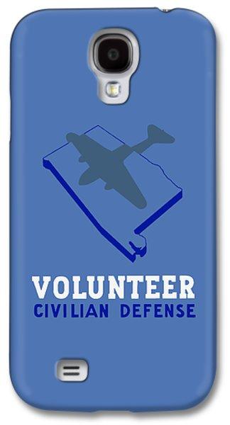 Alabama Civilian Defense - Wpa Galaxy S4 Case by War Is Hell Store