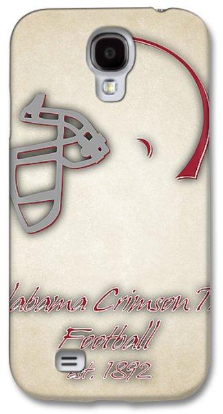 Crimson Tide Galaxy S4 Cases - Alabama Crimson Tide Helmet 2 Galaxy S4 Case by Joe Hamilton
