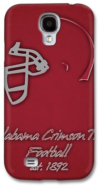 Crimson Tide Galaxy S4 Cases - Alabama Crimson Tide Helmet Galaxy S4 Case by Joe Hamilton