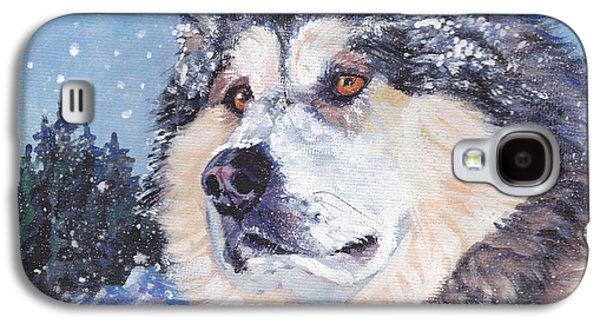 Alaskan Malamute Galaxy S4 Case by Lee Ann Shepard