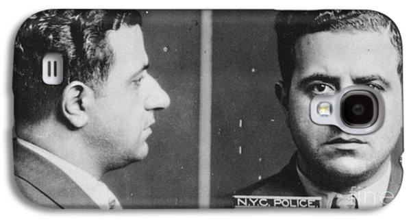 Mad Hatter Galaxy S4 Cases - Albert Anastasia (1902-1957) Galaxy S4 Case by Granger