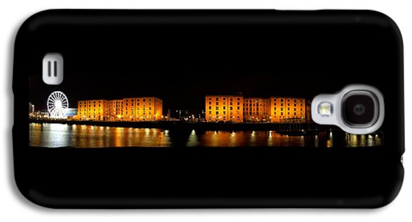 Beatles Galaxy S4 Cases - Albert Dock Liverpool Panorama Galaxy S4 Case by Steve Kearns