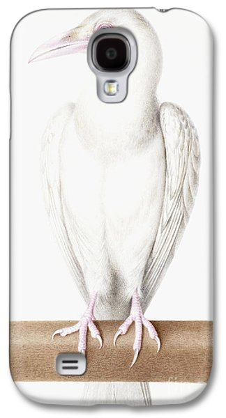 Albino Crow Galaxy S4 Case by Nicolas Robert