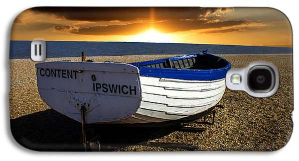 Wooden Fish Galaxy S4 Cases - Aldeburgh Beach Galaxy S4 Case by Martin Newman