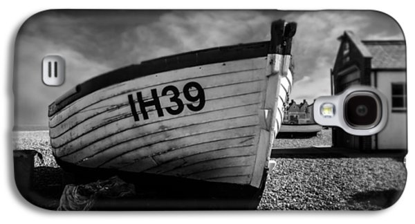 Wooden Fish Galaxy S4 Cases - Aldeburgh Fishing Boats Galaxy S4 Case by Martin Newman