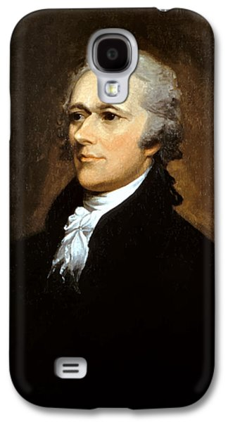 Declaration Of Independence Galaxy S4 Cases - Alexander Hamilton Galaxy S4 Case by War Is Hell Store