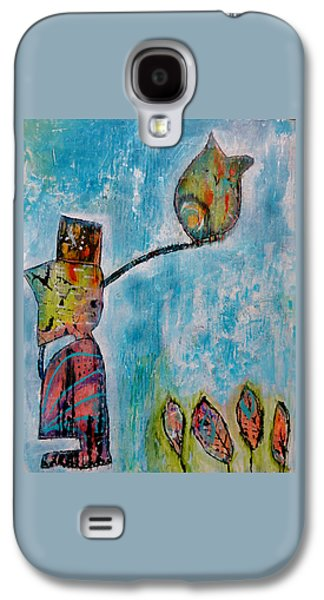 Ply Board Galaxy S4 Cases - Alexanders Bird Galaxy S4 Case by Jenn Ashton