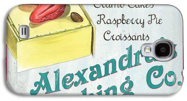 Grocery Store Galaxy S4 Cases - Alexandras Baking Company Galaxy S4 Case by Debbie DeWitt