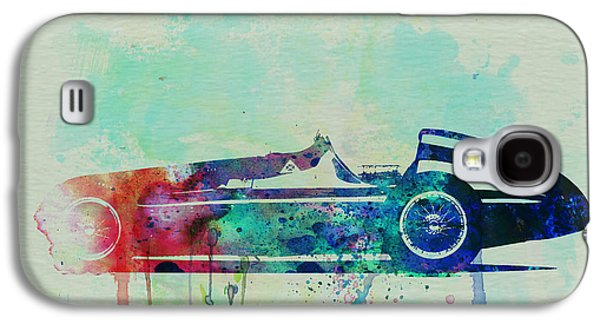 Old Car Drawings Galaxy S4 Cases - Alfa Romeo Tipo Watercolor Galaxy S4 Case by Naxart Studio