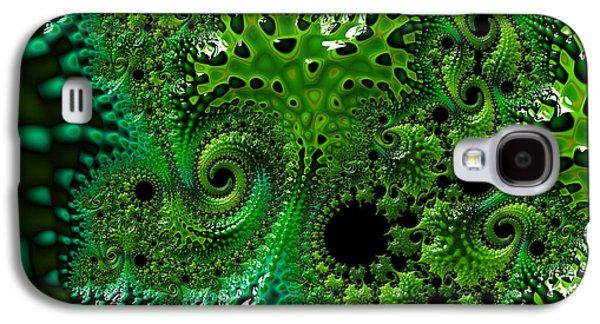 Alga Galaxy S4 Cases - Algae Galaxy S4 Case by Victoria Edwards