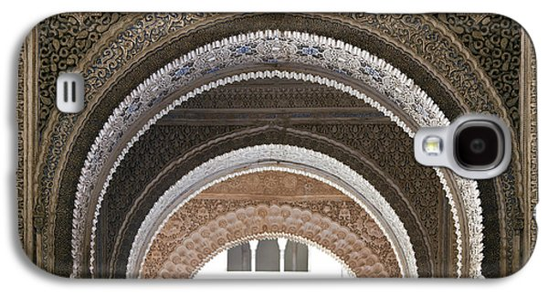 Ancient Galaxy S4 Cases - Alhambra arches Galaxy S4 Case by Jane Rix