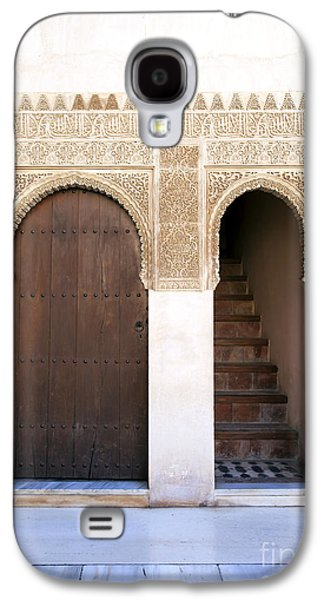 Islam Galaxy S4 Cases - Alhambra door and stairs Galaxy S4 Case by Jane Rix