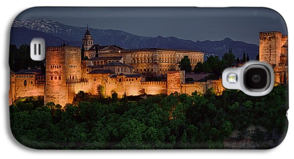 Bill Clinton Galaxy S4 Cases - Alhambra Sunset Galaxy S4 Case by Joan Carroll